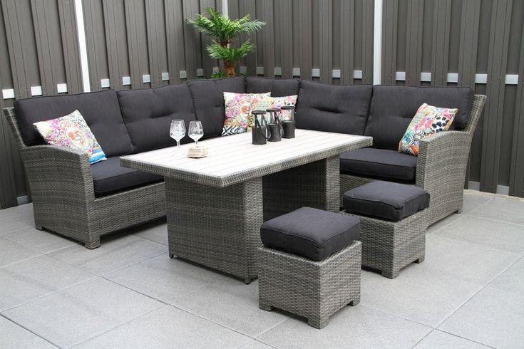 Lounge/dining set Classico - Gratis Thuisbezorgd! - van der garde Tuinmeubelen