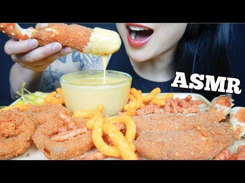 Asmr Hot Cheetos King Crab Onion Rings Cheese Sauce Eating Sounds No Talking Sas Asmr Youtube In 2020 King Crab Eat Cheese Sauce Everyone has a different asmr triggers. pinterest