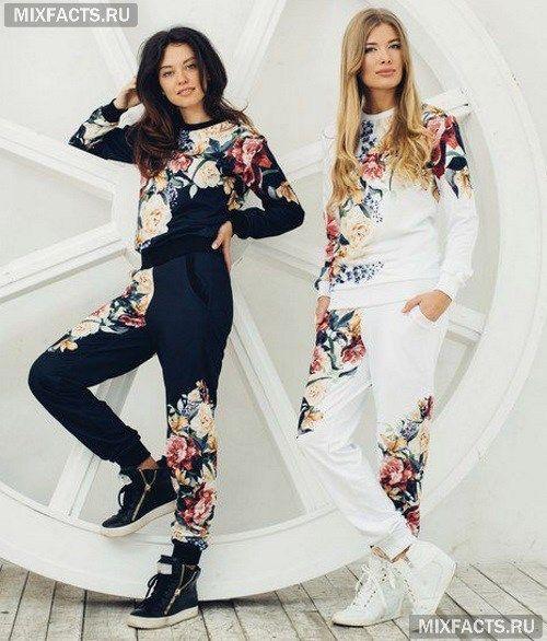 Модные женские спортивные костюмы 2017