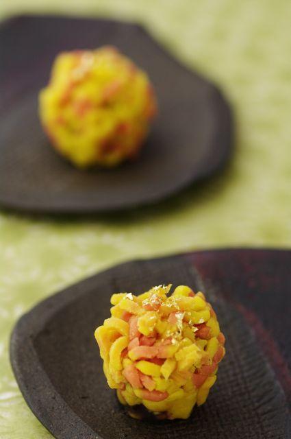 秋の彩りを待てなくて・・・ 手作り和菓子 錦秋、銀杏、 竜田川 : ふつうのコト