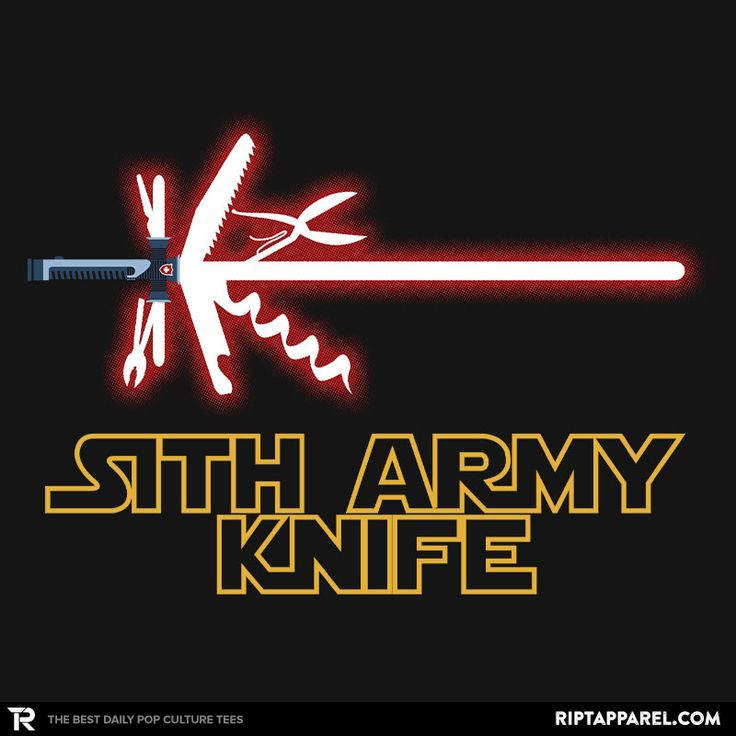 Get Quot Sith Army Knife Quot By Mdk7 Today Only 02 26 15 For