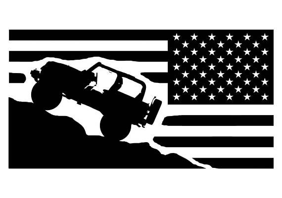 Flag Vinyl Decal For Jeeps Passenger Side Flag Sticker Car Decal Decal For Yeti Tumbler Decal Accessories For Jeeps Tumbler Decal Usa Jeep Decals Jeep Stickers Car Decals Vinyl