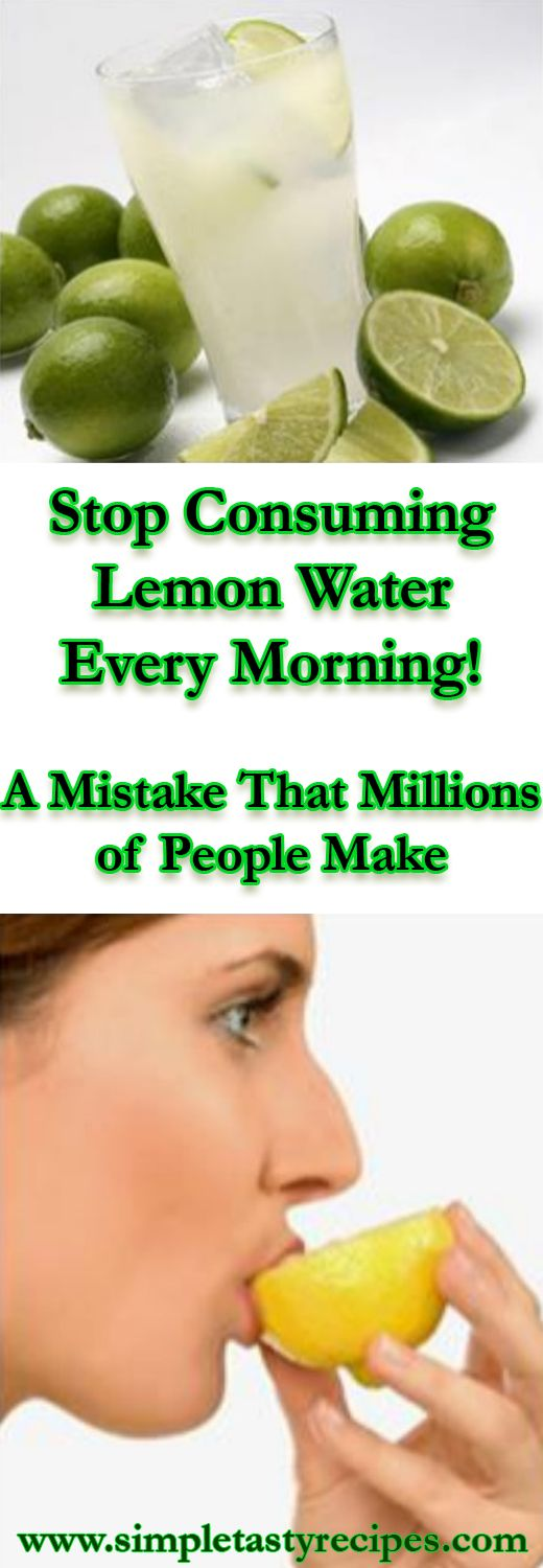 Stop Consuming Lemon Water Every Morning! – A Mistake That Millions of People Make