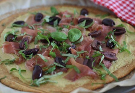 Pizza Capricciosa (AIP, Paleo)