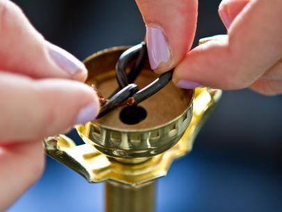 How to Rewire a Lamp   Diy furniture accessories, Diy home ...