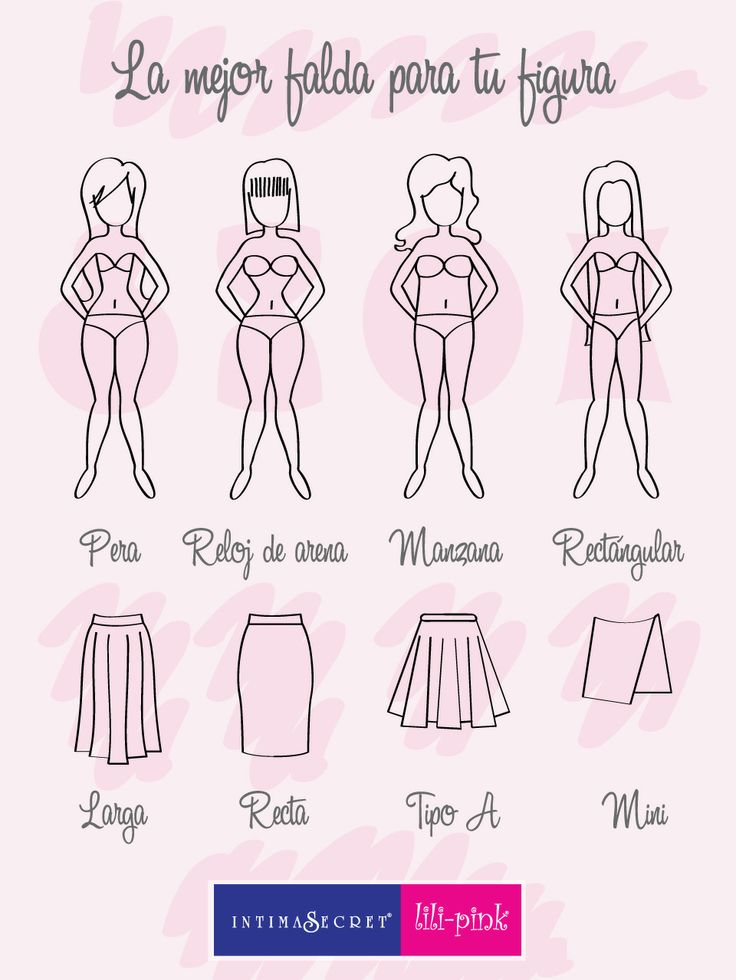 La falda ideal para tu figura
