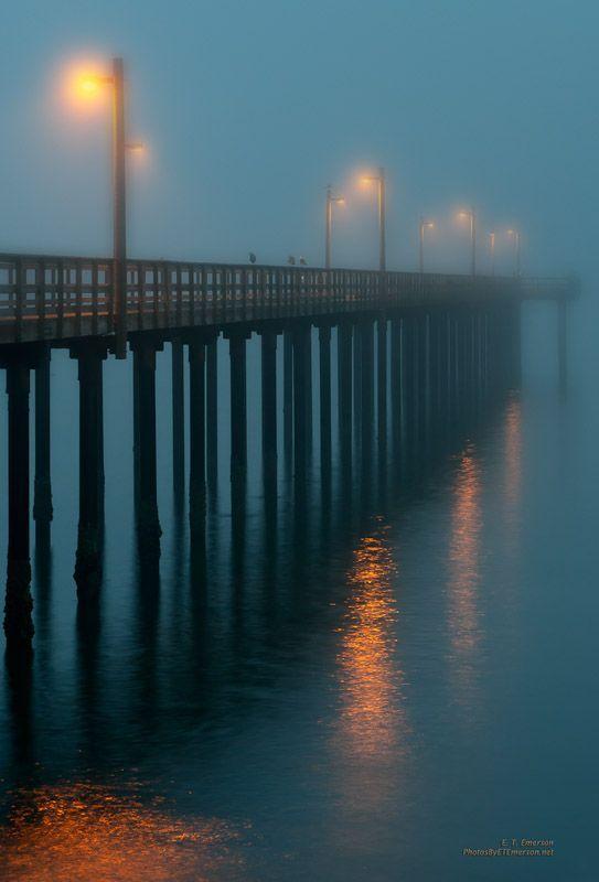 Crescent City Pier, California.
