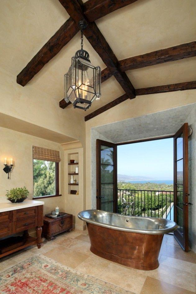 Best 25+ Mediterranean Bathroom Design Ideas Ideas On Pinterest | Mediterranean  Bathroom Mirrors, Mediterranean Style Showers And Blue Bathrooms Designs