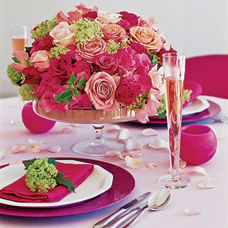 The 25+ best DIY Valentine\'s table settings ideas on Pinterest ...