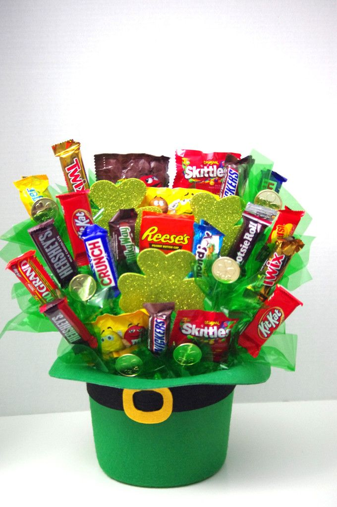 St. Patrick's Candy Arrangement