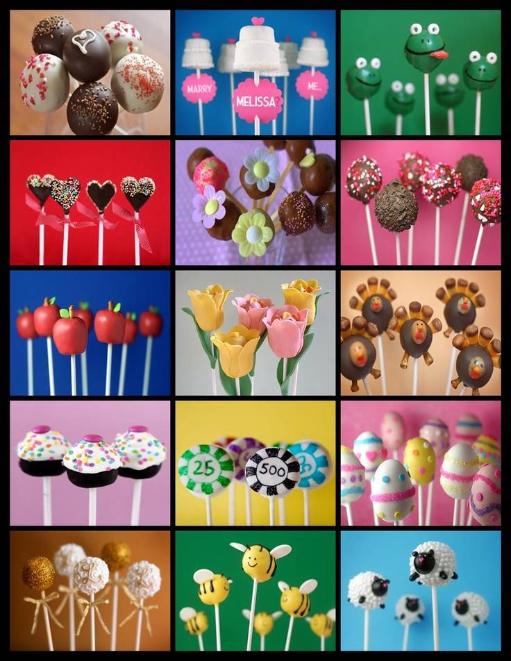 Cake pops we love!