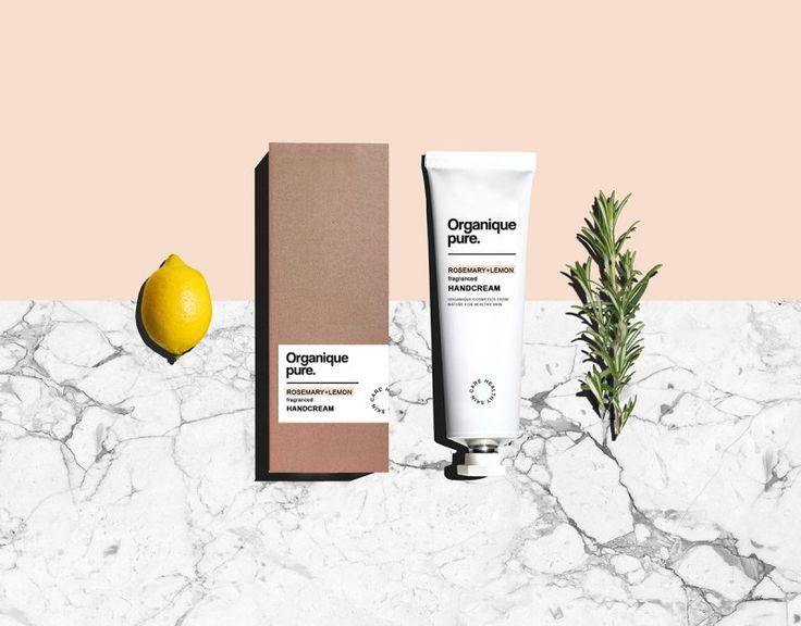 Organique Pure's Contemporary Branding