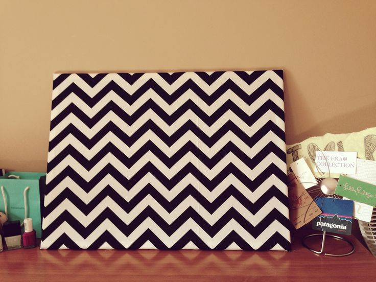 25 Best Ideas About Chevron Cork Boards On Pinterest