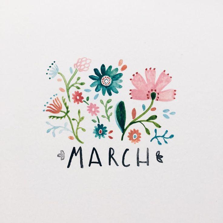 "Instagram: ""Hooray for March"""