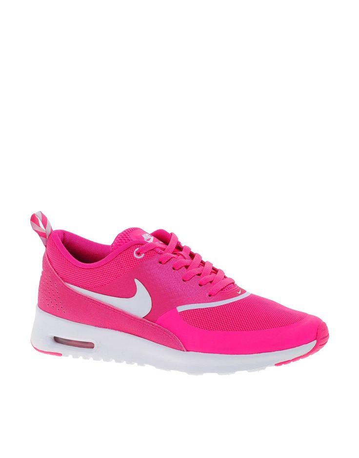 Pink   Nike Air Max Thea Pink Trainers at ASOS