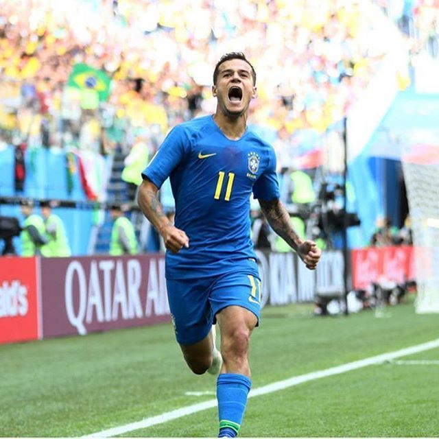 A Selecao Brasileira Sofreu Na Segunda Rodada Da Copadomundo2018 Em Sao Petersburgo Mas Venceu Brasil 20 Costa Rica Com Selecao Brasileira Futebol Costa Rica