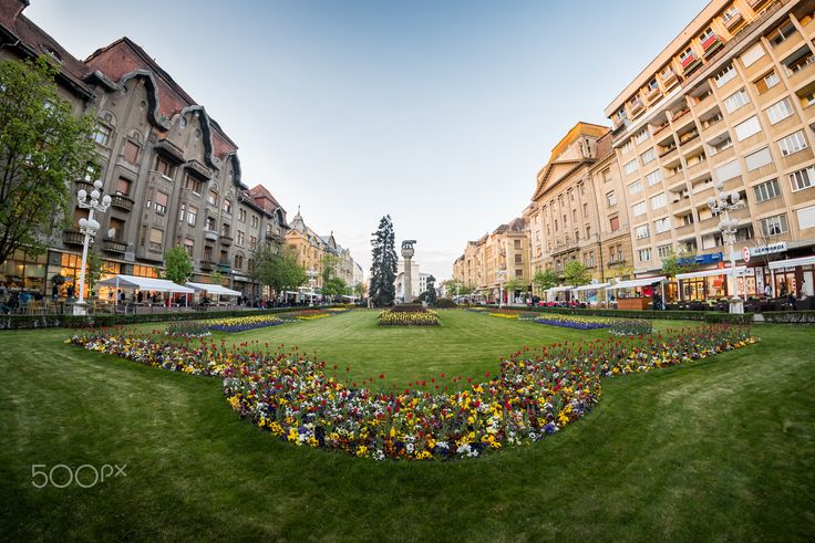 Welcome to Timisoara - The beautiful city center in Timisoara