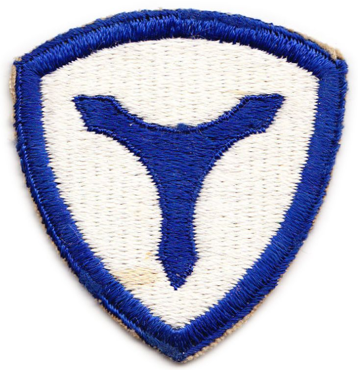 3 Corps Area Service Command Patch. US Army