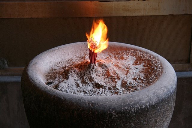 Incense Burning by webbmb
