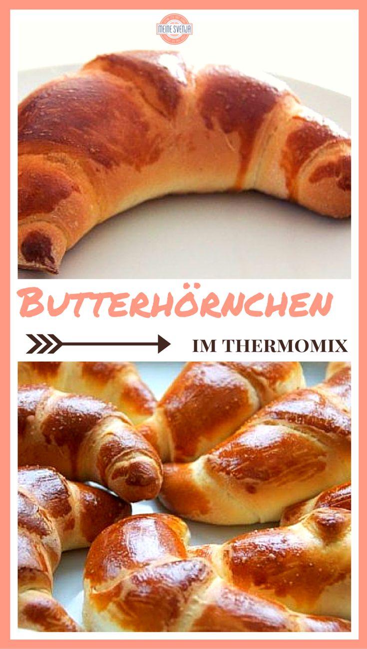 Butterhörnchen - die Perfekten - schnell & lecker mit dem Thermomix *** The perfect Croissant quick & easy
