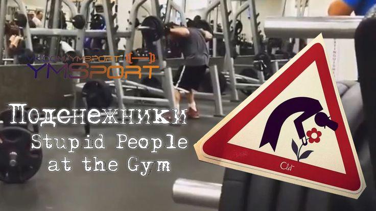 Подснежники в качалке 2016 Stupid People at the Gym