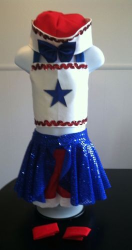 National Pageant Dress Ooc Pageant Patriotic Casual Wear 3