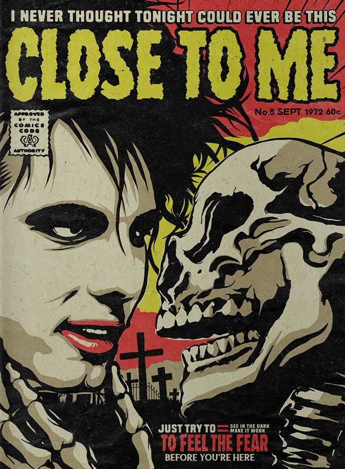 OcéanoMar - Art Site: Butcher Billy -A Pop Culture Mean Butcher- << The Cure-Songs as Horror-Comics >>