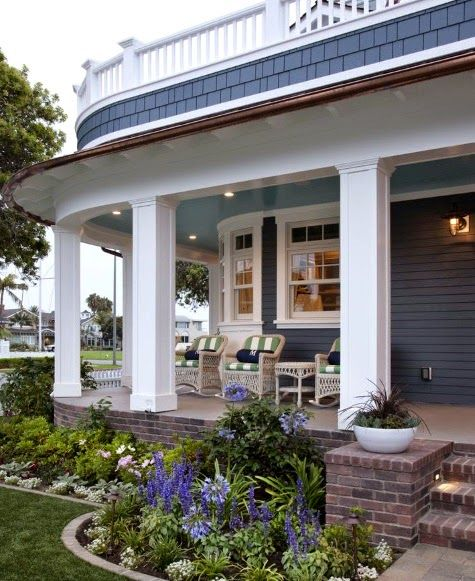 A Blog About Coastal Decor And Diy On A Budget: 17 Best Ideas About Nautical Landscaping On Pinterest