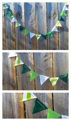 St Patric Wall Garland $9.00 www.pinkepromise.com #stpatricksday #garland #flags #decoration #home