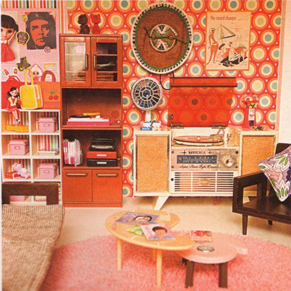 Printable Dollhouse Size Magazine 1960 Era: 235 Best Dolls House Inspiration Images On Pinterest