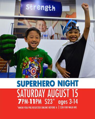 ASI Gymnastic Parents Night Out Saturdays 7-11pm $23 Plano West: George Bush @ Rosemeade