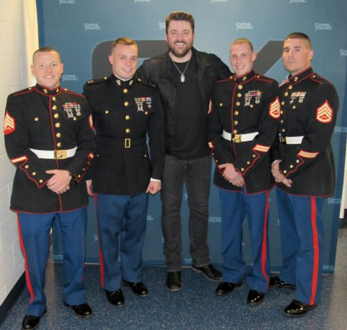 Chris Young teams up with Toys For Tots