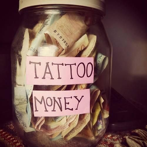 It's true what they say, tattoos are addictive. Once you get one you are constantly saving for another.