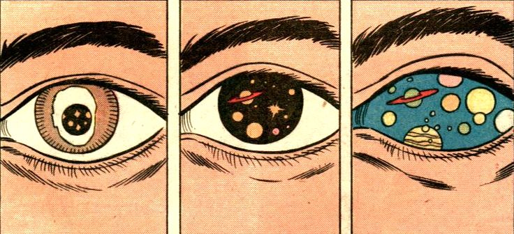 //Ideas, Pop Art, Cosmo, Art Inspiration, Illustration Eye, Spaces Eye, Comics, Health Lessons, Outer Spaces