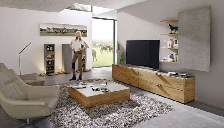 8 best Wohnwände images on Pinterest Tv walls, Tv furniture and - hülsta möbel wohnzimmer