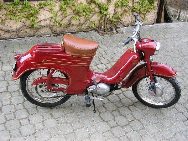 1960 Jawa 50, model 555
