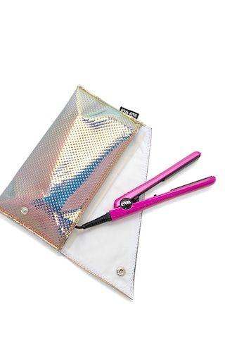 Eva NYC Mini Healthy Heat Ceramic Styling Iron & Bag