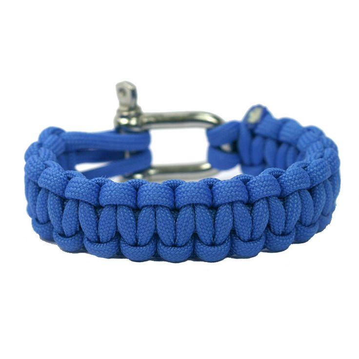 Colonial Blue Super Strong and Durable Paracord Bracelet - Naimakka