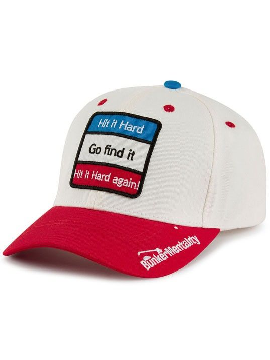 db3f16edfdb The Hit It Hard Golf Cap from Bunker Mentality