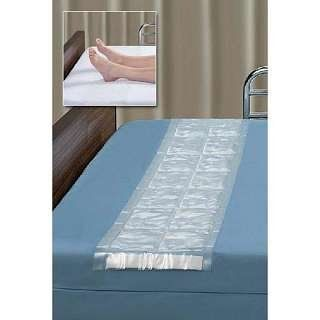 "Shear Stop Mattress Overlay by Hatch. $27.95. The ShearStop Mattress Overlay uses scientifically proven LiquiCell® technology to aid in the prevention of pressure sores in bedridden patients. Pressure sores are among the most costly and painful challenges facing both patients and caregivers.   Features   Ultra thin liquid-filled membrane reduces soft-tissue shear forces, and improves flow of blood  Seal points control flow of liquid to equalize pressure  Surfaces ""slide"" on them..."