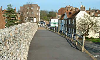 Chichester City Walls Walk
