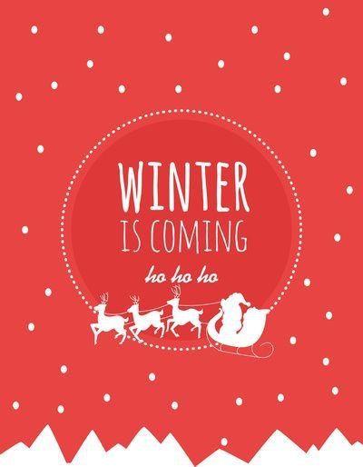 Bild über We Heart It https://weheartit.com/entry/148252137 #christmas #santa #snow #typography #winter #x-mas #kiiwyyo