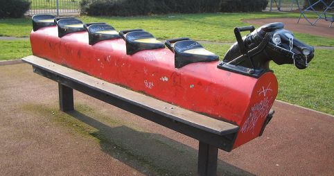 Remember this toy.. Had one of these in our local park.