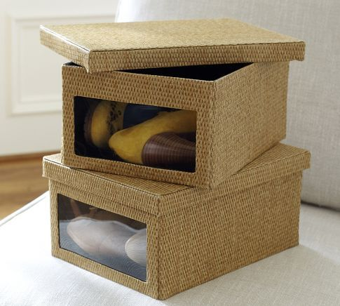 Paloma Collapsible Shoe Box ($ 19.50) | Let s Get Organized! | Pinter
