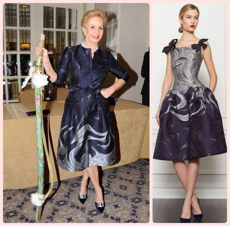 Carolina Herrera, estilista de moda conhecida pelos seus perfumes , considerada uma das mulheres mais elegantes do mundo, marca de estilo e elegância.