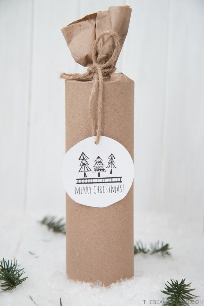 Free Printable Scandinavian Christmas Tags