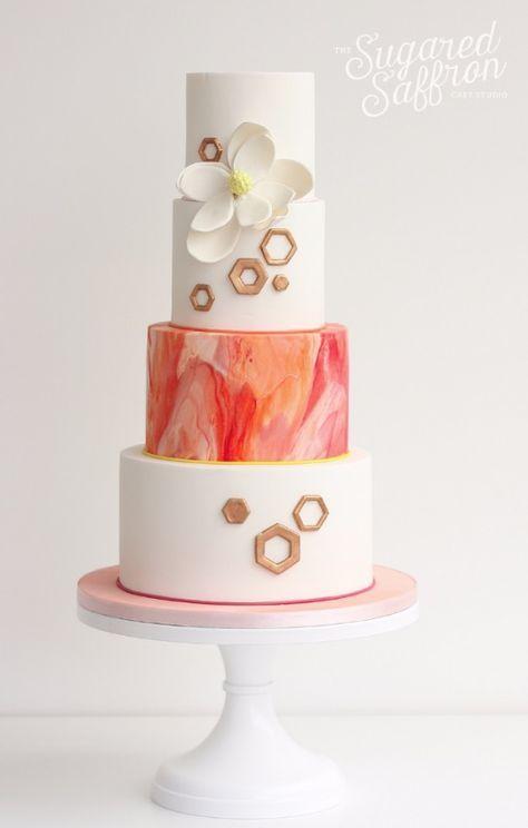 Repost...Fabulous Wedding Cakes From Sugared Saffron Cake Studio; www.sugaredsaffron.co.uk