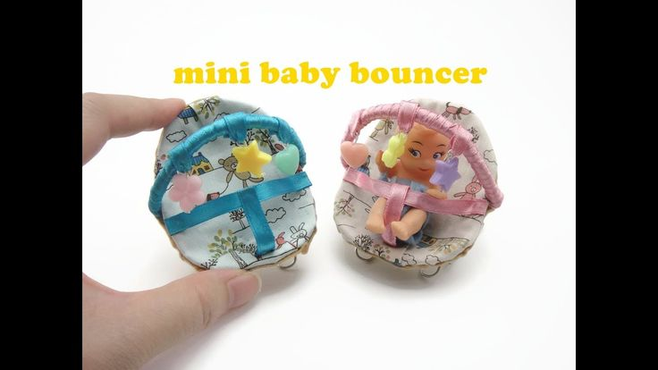 7 Inspiring Kid Room Color Options For Your Little Ones: DIY Miniature Doll Mini Baby Bouncer