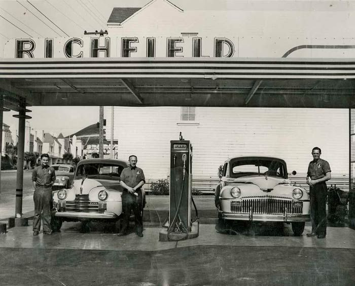 123 Best Images About Richfield Gas Stations On Pinterest