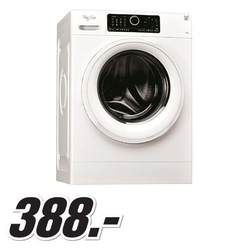 Dagaanbieding: Whirlpool wasmachine voor slechts: 388.00